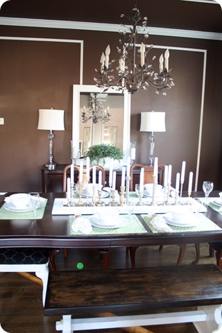Dining Room Turned From Thrifty Decor Chick