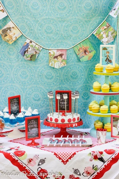 Mary Poppins Sweets Table