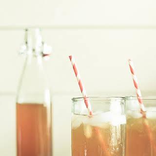Homemade Black Tea Lemonade.