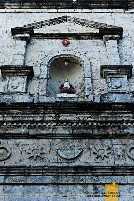 The Sto. Nino at Poro Church Facade