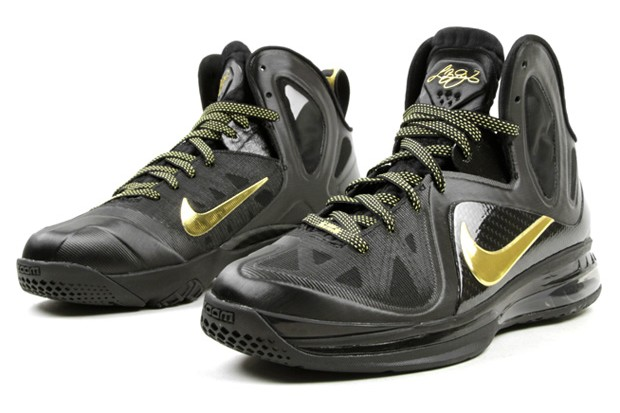 new arrival 41b29 eabc3 ... Upcoming Nike LeBron 9 PS Elite BlackMetallic Gold 8220Away8221 ...