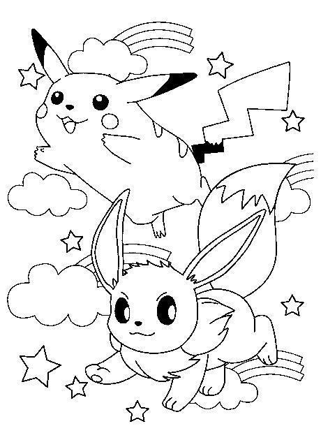 Pokemon Para Pintar
