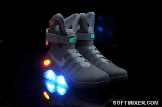 Nike Air Mag Back To Future Shoes Mens Nike Back To The Future Sneakers SDH10-2437