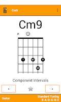 Screenshot of Fretter - Chords