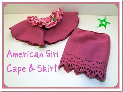 Hello Kirsti American Girl Fleece Outfit