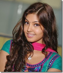 Actress Komal Jha in Green Salwar Cute Images