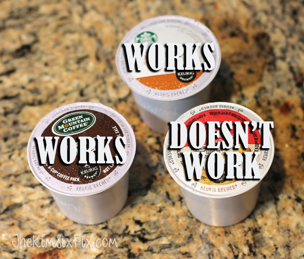 Incompatible Kcups