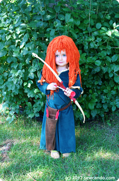 Merida Costume Eyes
