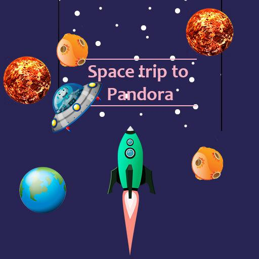 Spacetrip to Pandora LOGO-APP點子
