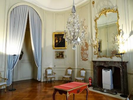 Obiective turistice Potsdam: Dormitor regal la Sanssouci