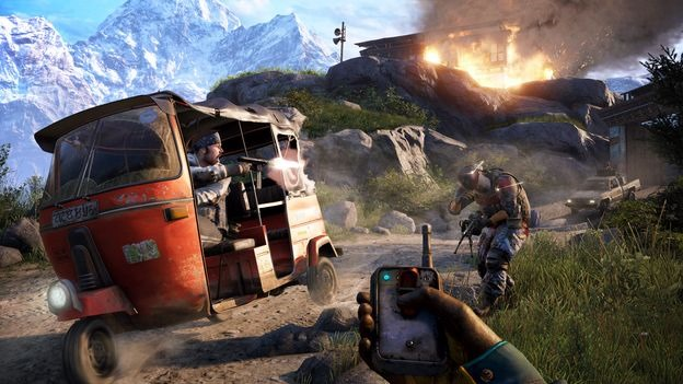 far cry 4 pc gameplay shot