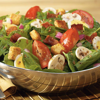 Classic Spinach Salad.