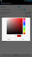 Screenshot of Night Light Pro