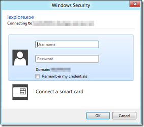 Configure ADFS to show a login page instead of a dialog