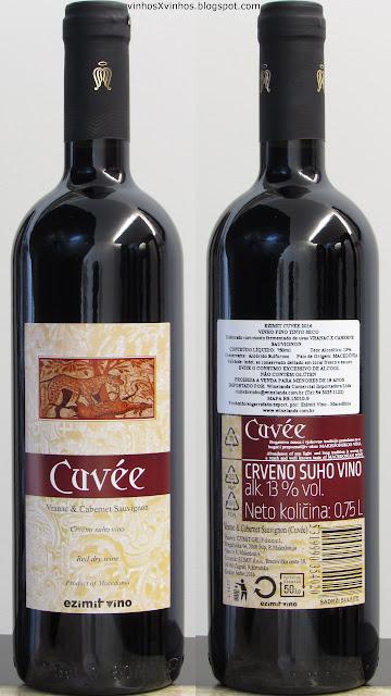 Vinho Ezimit Cuvée
