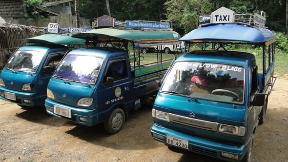 Tuk-tuk no Laos
