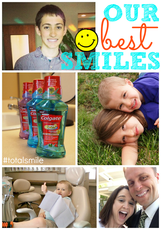 Our Best Smiles with Colgate Total Mouthwash #TotalSmile #Cbias