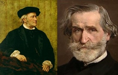 Richard Wagner and Giuseppe Verdi