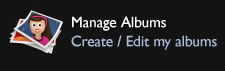manage albums