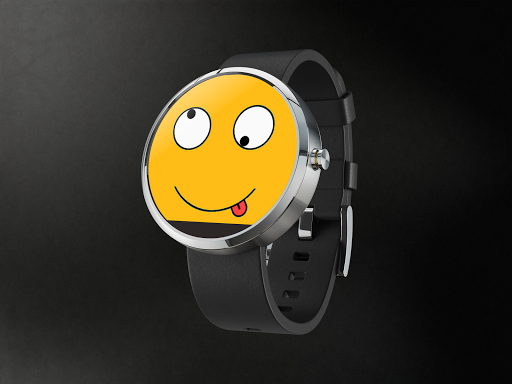 Crazy Face Watch Android Wear