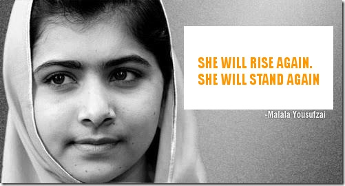 Malala Yousufzai_will rise again_support