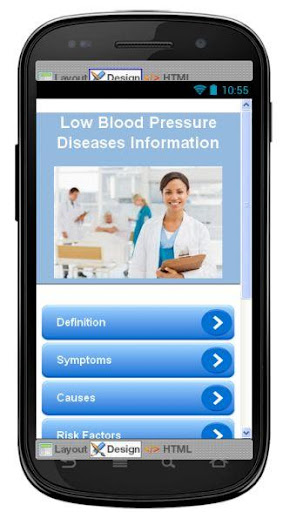 Low Blood Pressure Information