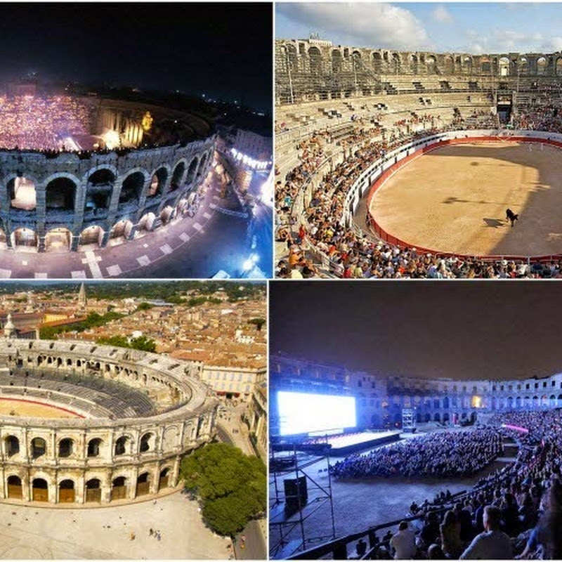 4 Ancient Roman Amphitheatres Still in Use Today