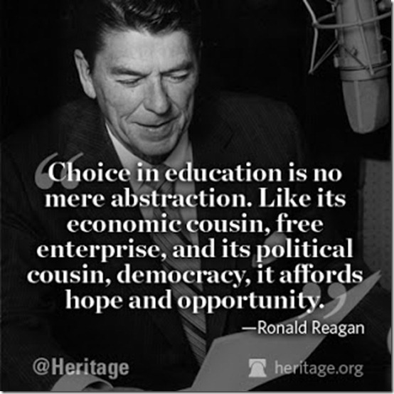 Heritage Reagan Education