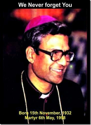 Bishop John Joseph - Pakistan Christian Martyr