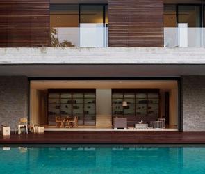 casa moderna de hormigon visto