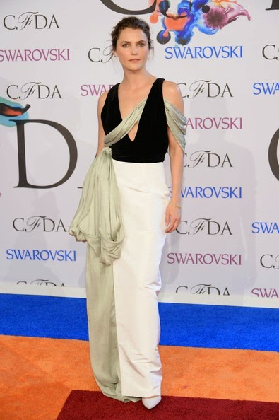 Keri Russell Arrivals CFDA Fashion Awards