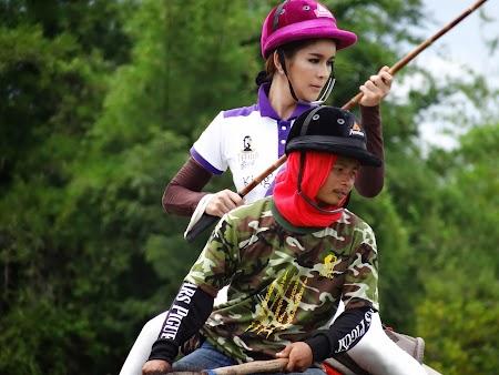 30. Ladyboy la turneul de polo pe elefanti.JPG
