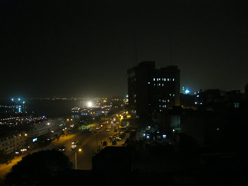 From the Nile Hotel room
