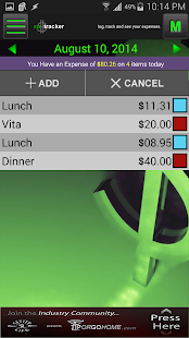 XPTracker - Expense Tracker- screenshot thumbnail