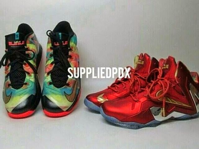 0b7ec2882932 Nike Was Ready For King James to 3Peat with LeBron 11 Championship Pack ...