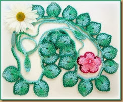 crochet flower eight