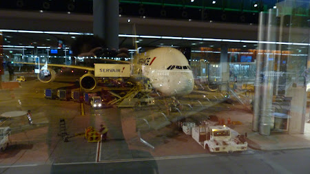 Air France Airbus A380 pe aeroportul Paris