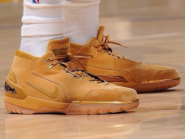 the latest 01886 a1e9e Nick Young Wears the 8220Wheat8221 Nike Air Zoom Generation ...