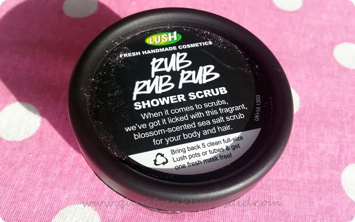 Lush Rub Rub Rub Shower Scrub