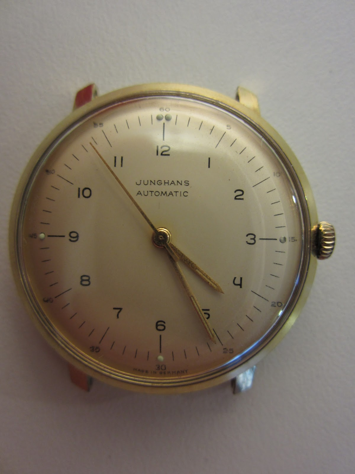A short guide the original max bill junghans watch design from finally a series of photographs which were taken by a watchmaker who serviced an old max bill junghans automatic with the original junghans j83e movement amipublicfo Images