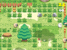 Screenshot of Sheepo Graze - Lawn Mower