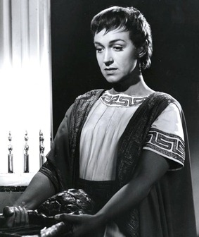 Risë Stevens as Gluck's Orfeo [Photo by Bender, Metropolitan Opera, 1955]