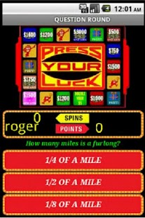PRESS YOUR LUCK - screenshot thumbnail