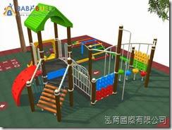 兒童遊樂設施示意圖
