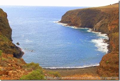 0873 Cruz Tejeda - Agaete(Playa Juncal)