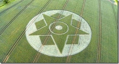 Besford, Worcestershire, crop circle