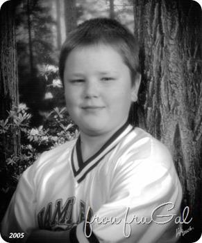 Noah - 3rd Grade bw