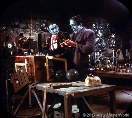 View-Master The Munsters (B481), Scene 13