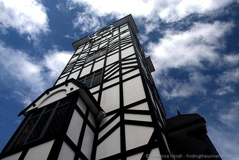 Glockenspiel tower Stratford New Zealand