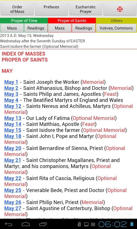 Roman Missal (Catholic)- screenshot